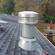 New Roof, chimney and skylights